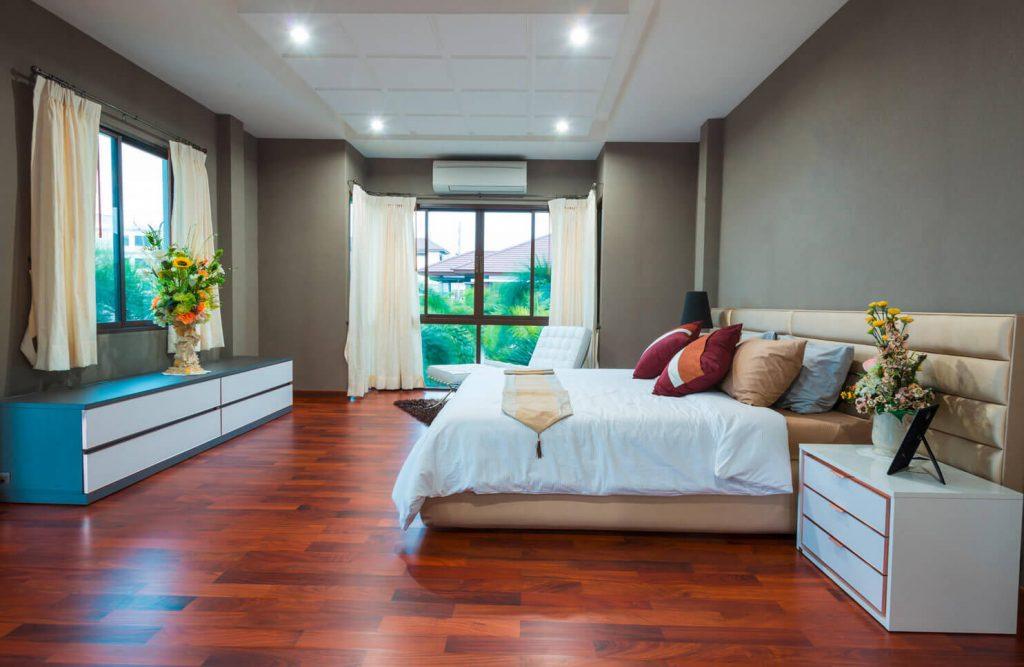 Klimaanlage im Schlafzimmer KMTechnik